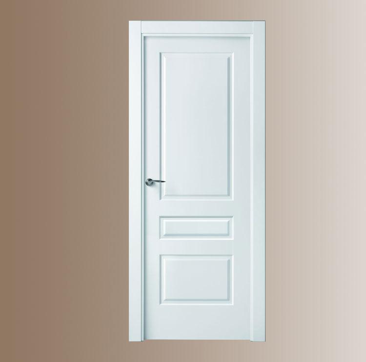 Puerta blanca plafones 3 puertas y ventanas esquivias for Puertas madera blancas precios