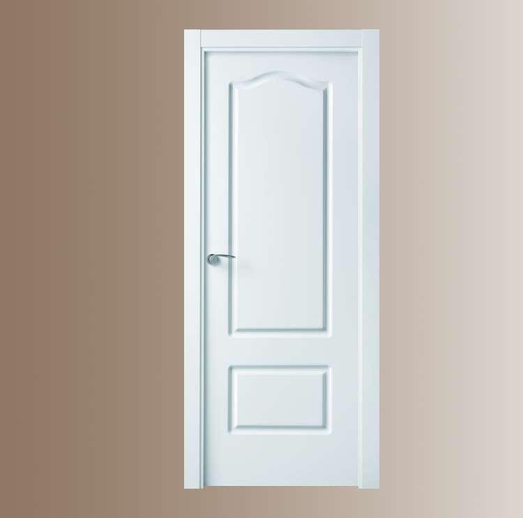 Puerta blanca lacada provenzal - Puertas lacadas blancas precios ...