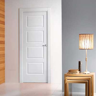 Especialistas en puertas lacadas blancas puertas y for Puertas de madera blancas para exterior