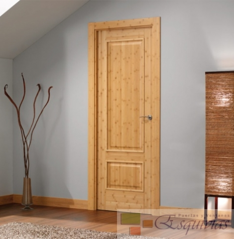 Md es moldura plana 200 puertas y ventanas esquivias for Puertas de madera para interiores baratas
