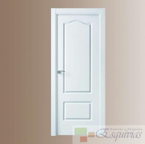 Puerta blanca lacada provenzal - Puertas blancas lacadas precios ...